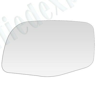 """REPLACEMENT-MIRROR-GLASS+ADHESIVE PAD~PADDLE 7.25/""""x6/"""" POWER LEFT DRIVER SIDE"""
