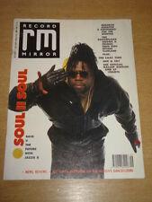 RECORD MIRROR 1987 DEC 9 SOUL 2 SOUL REDHEAD KINGPIN HUE & CRY ELECTRONIC