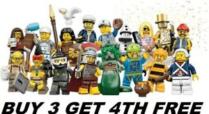LEGO-MINIFIGURES-SERIES-10-71001-PICK-CHOOSE-YOUR-OWN-BUY-3-GET-1-FREE