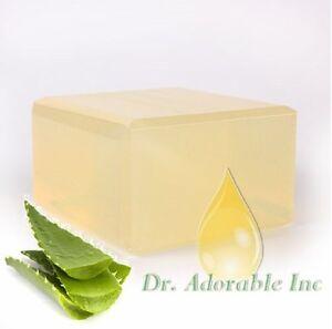 Aloe-Vera-Clear-Glycerin-Melt-amp-Soap-Base-FREE-SHIPPING