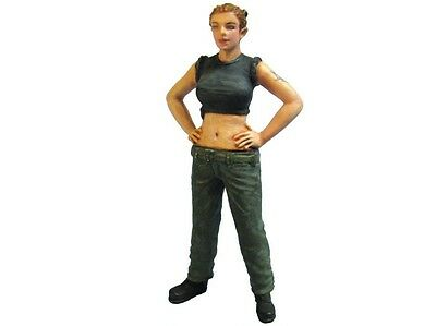Aurora Model 1/35 figures Modern Female Army Soldier Metal kit ML-021