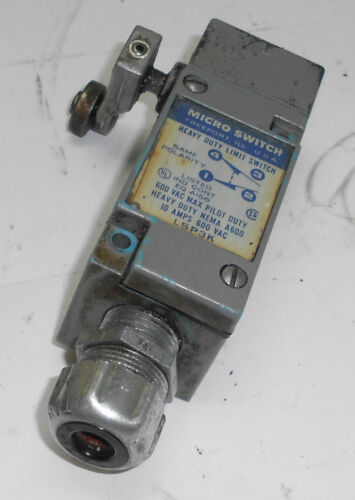 Micro Switch Heavy Duty Limit Switch Used Side Actuator # LSP3K WARRANTY
