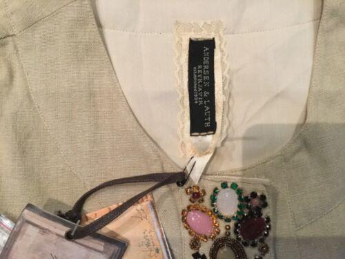 Ladies Nwt Gen Natural Uk 12 Anderson 10 Short Jacket Ny Størrelse Lauth 36 1FInHrI