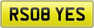 RS08-YES-QUALITY-PRIVATE-CAR-REG-NUMBER-PLATE-FEES-PAID-FOR-NEW-AUDI-RS-Q8-MODEL