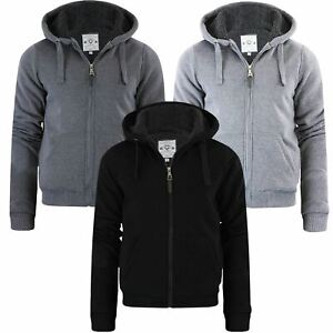 Mens-Brave-Soul-Sherpa-Fleece-Fur-Lined-Borg-Hoodie-Winter-Sherpa-Hooded-Jacket