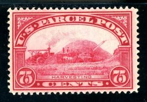 USAstamps-Unused-FVF-US-1912-Parcel-Post-Harvesting-Scott-Q11-OG-MHR