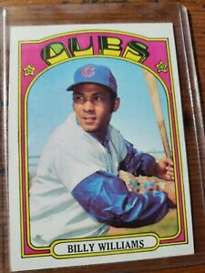 1972 Topps Billy Williams Chicago Cubs #439 Baseball Card