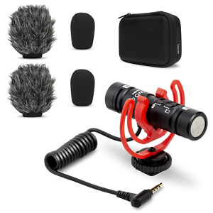 Movo DoubleMic Dual-Capsule Condenser Microphone for Smartphones and Cameras