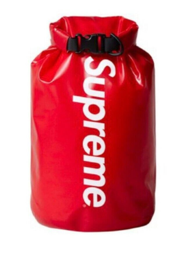 New and unopened SS16 Supreme Sealline 5L Nimbus dry sack waterproof red