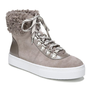 Sam Edelman Women's Putty Luther High Top Sneakers Sz 9M 2578