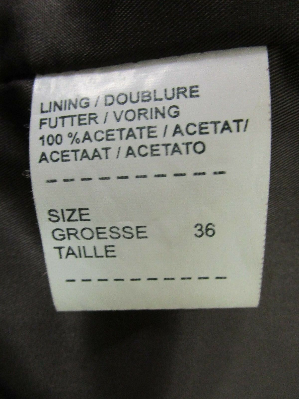Vintage RENE LEZARD Butter Soft Soft Soft Brown Leather Bomber with Sweater Sleeves 36 1485c4