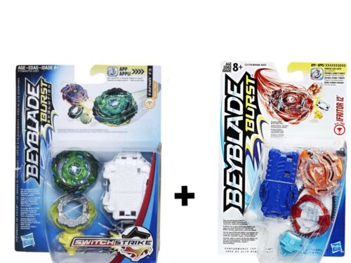 Ifritor I2 Hasbro Beyblade Burst Evolution Switch Strike Green Fafnir F3