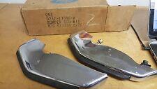 72 FORD GALAXIE LTD CUSTOM FRONT BUMPER GUARD KIT NEW FORD OEM