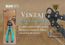 VINTAJ 1 STEP LOOPER - ONE STEP LOOPER- 1.5 MM Loop - Create & trim eye pins
