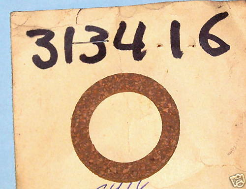 "SMA7433 NOS OMC JOHNSON EVINRUDE SIERRA GASKET /""LOT OF 3/"" 313416 0313416 18-0929"