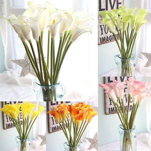 Schonheit Kunstlich Gefalschte Blumen Calla Lilie Blumenmuster