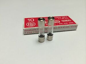 Fast Acting GLASS Fuse* 5mm x 20mm 160mA 250V *Quick-Blow F160mAL250V