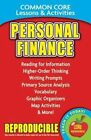 Personal Finance - Common Core Lessons & Activities by Carole Marsh (Paperback / softback, 2015)