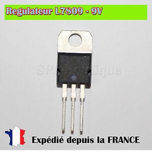 Regulateur-L7809CV-LM7809-L7809-9V-TO220