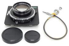 Fuji Fujinon L 210mm F5.6 Lens. Board. Release For 4x5 Camera