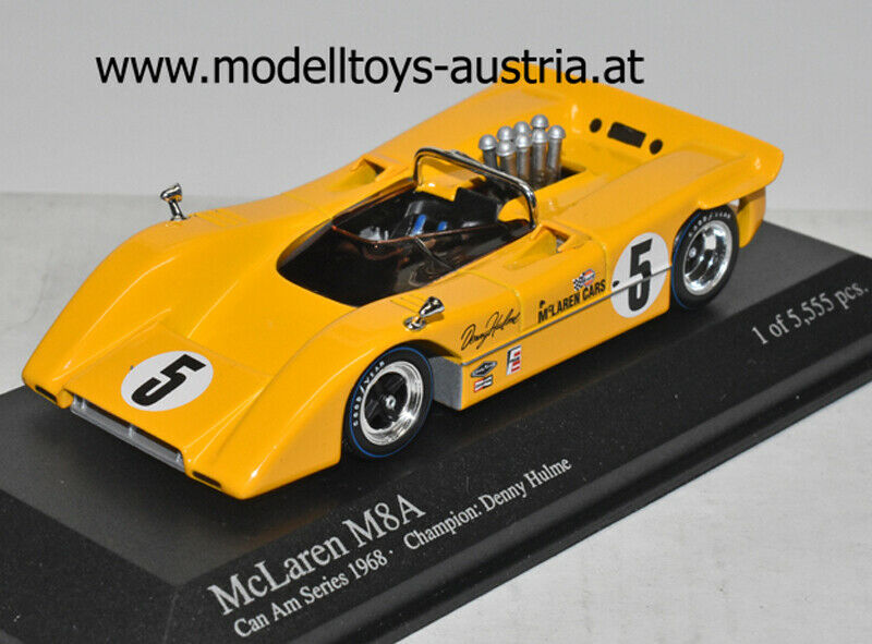 McLaren M8A  1968 Can Am CHAMPION Denny HULME 1 43 Minichamps  jusqu'à 70% de réduction