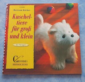 Koerber-Bertram-Kuscheltiere-fuer-gross-und-klein-Brunnen-Reihe-Stofftiere-Bast