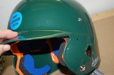 Nwt Schutt Sports Junior Osfm 2742 Air Pro 4.2 Batter's Helmet Protective Gear Team Sports Dark Green To Clear Out Annoyance And Quench Thirst
