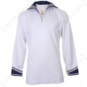 Original-German-Navy-Shirt-Military-Surplus-Sailor-Costume-Top-Naval-Maritime