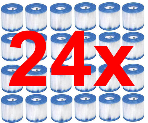 24x Intex Filtre Cartouche Type H 29007 Filtre Cartouches pour Filtre 28601 28602