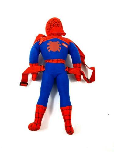 """PLUSH BACKPACK Marvel Spider-Man 20.5/"""" inches with small pocket Toy"""