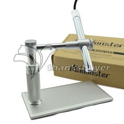 2MP USB Digital Pen Microscope Video webcam Magnifier Camera Stand Andonsta Cam