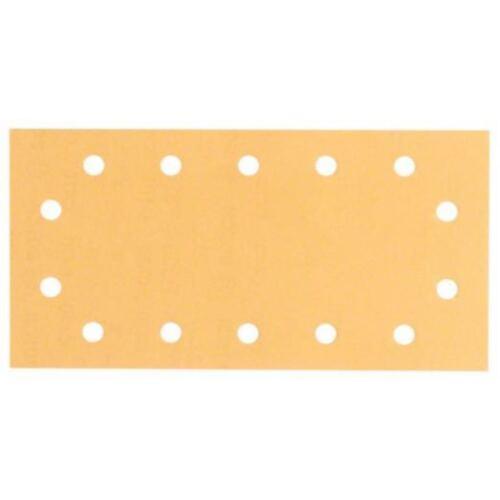 BOSCH 115x230mm Schleifpapier mit Klett 10 Stück Korn 120