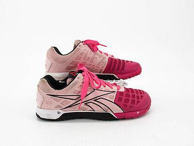 Reebok Crossfit Nano 3.0 Women Pink Athletic Training Shoes Size 9m ... 0329319f5