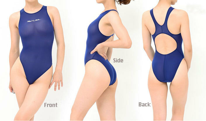 Realize vrouwnen Zwem wear Normal Back See-through Second Skin 4 kleur --Kz