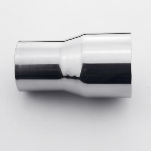 """3/"""" ID 76 mm to 3/"""" ID 76mm exhaust reducer adapter pipe 304 stainless steel"""