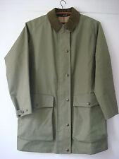 English Womens Grenfell Cotton Walker Hiker Jacket Coat Outdoor Windproof