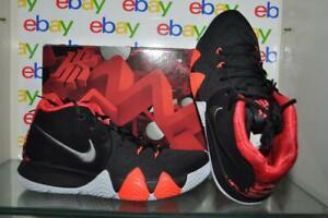 Nike-Kyrie-Irving-4-Mens-Basketball-Shoes-Black-Dark-Grey-943806-005-NIB