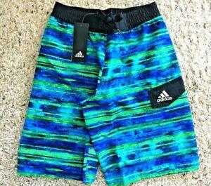 Adidas 20 M Trunks Swim 8 Boys Water Stripe Size rz1wFr