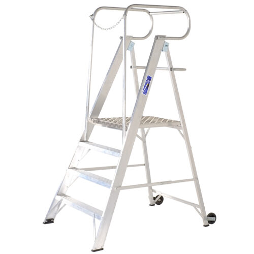 Industrial Midi Work Platforms Platform Step Ladder T B Davies