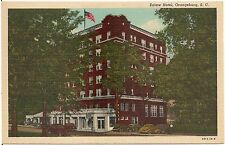 Eutaw Hotel in Orangeburg SC Postcard