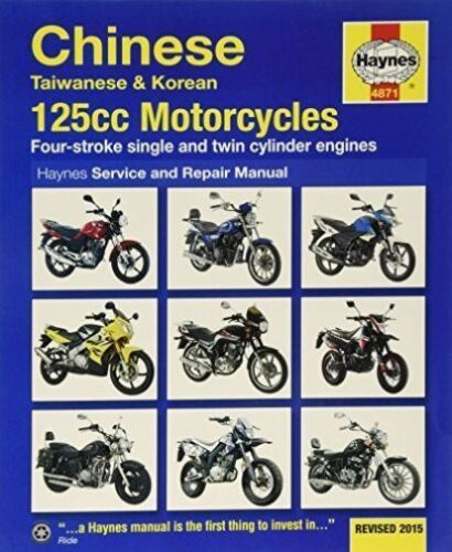 1 of 1 - Chinese, Taiwanese & Korean 125CC Motorcycles Service and Repair-ExLibrary