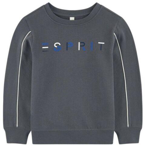 Dark Grey Esprit Sweatshirt RRP £25 . Size 8-9 Years 100/% Cotton