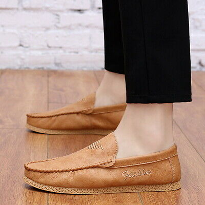 Mens Casual Moccasins Driving Summer
