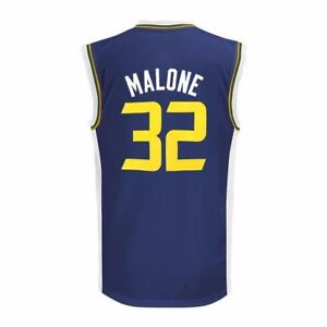 the latest 37d71 d2f9d Details about Karl Malone NBA Utah Jazz #32 Toddler Baby Jersey - 3T