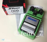 | Maxon Od-9 Original Overdrive Boost Tube Distortion Ts-9 Gain Valve Ts-808
