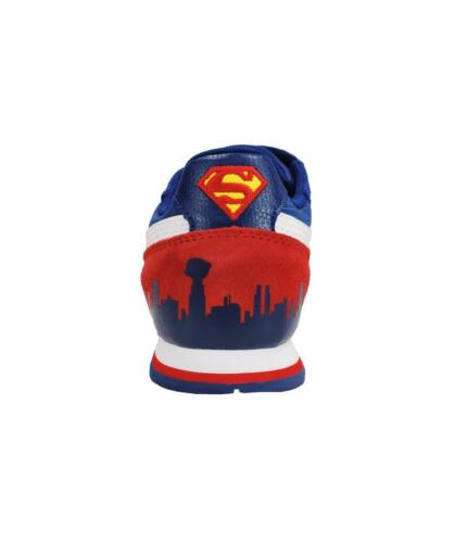 Puma Kids Shoes ST Youth Runner Superman Strap Blue Suede Sneakers 359090-01