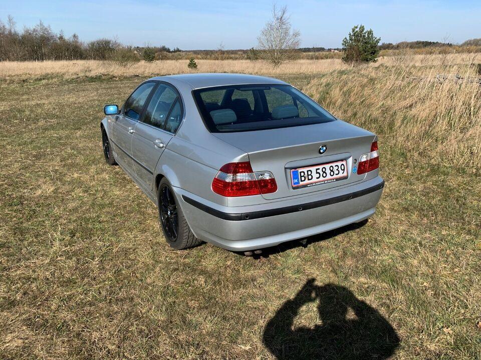 BMW 330d 3,0 Steptr. Diesel aut. Automatgear modelår 2004