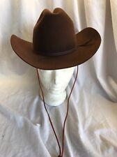 Bailey/brown/Felt Cowboy Hat/6 3/4. Triple X Beaver/mustang/women's!!