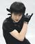 Black x White Free Size RARE Yuzuru Hanyu Irene Shop Limited Glove