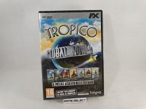 TROPICO-GLOBAL-POWER-1-2-3-4-ESPANSIONI-PC-COMPUTER-DVD-ROM-NUOVO-SIGILLATO